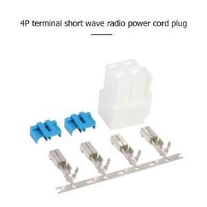 4-Pin-Power-Connector-Male-Plug-for-Icom-IC-7000-IC-7100-IC-7400-IC-7600-Radio