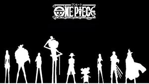 d8e42eb1e Details about One Piece Monkey D Luffy Silhouette Dark Pirate Crew Anime  Artwork Poster Print