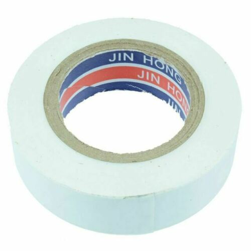 6 X ROTUNDA MANCHESTER PREMIUM WHITE PVC INSULATION TAPE FLAME RETARDANT