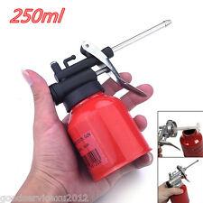 Mini Portable Red Autos Off-Road Lubricants High Pressure Pump Oiler Oil Can Gun