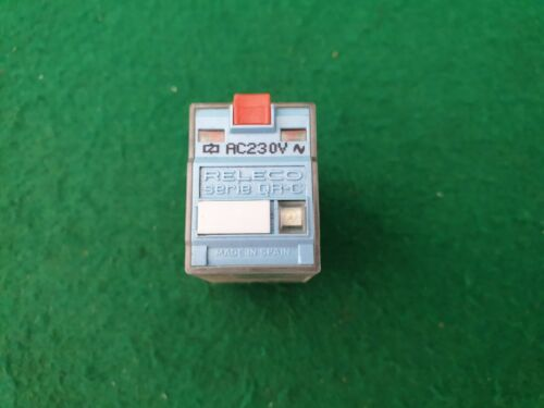 Releco C7 DPDT  Relay  230 VAC Coil 10 Amp
