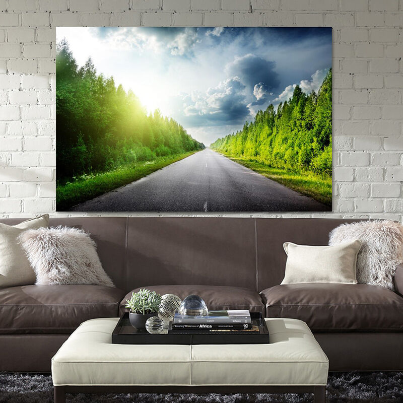 3D Roadside Tree 763 Wall Stickers Vinyl Murals Wall Print Deco AJSTORE UK Lemon