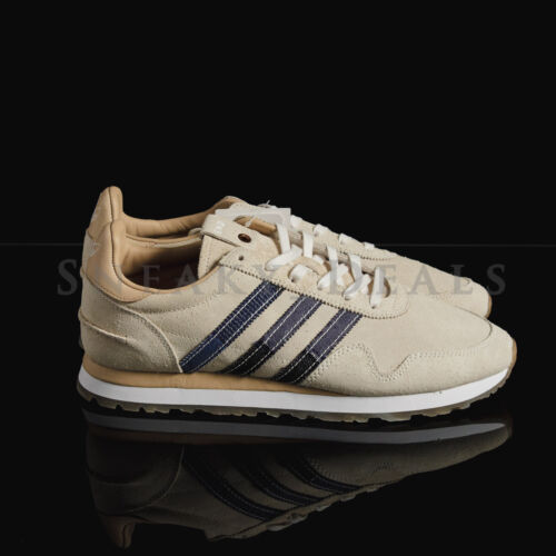 New Adidas Consortium Haven S.E. END Bodega Tan Leather Denim White Patchwork BY2103 for cheap