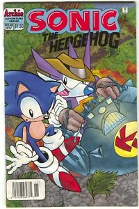 Sonic-The-Hedgehog-40-Archie-1993-VG-Newsstand
