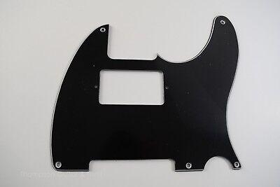 Black Tele Single Humbucker Pickguard Micawber//Keef 5-Screw