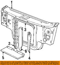 Genuine Chrysler Parts 55257304AA Radiator Support