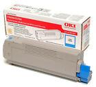 43381907 OKI Laser Toner Cartridge Page Life 2000pp Cyan