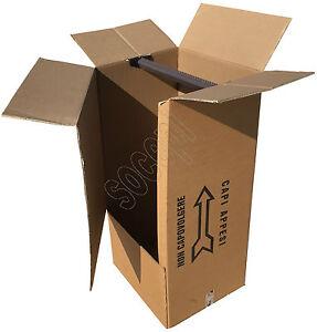 3 scatole cartone porta abiti porta vestiti scatole per for Scatole riponi abiti