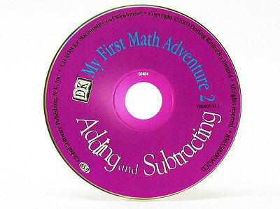 95//98 PC Game Vista Windows 7 XP My First Math Adventure Add /& Subtract