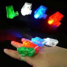 4 Dedos laser led - Ideal en fiestas nocturnas - cada dedo de un color diferente