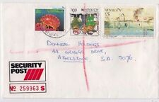 Stamps Australia $5 Holiday at Mentone uprated sent security post to Athelstone