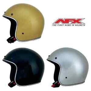 AFX-fx-76-Bajo-Perfil-Abierto-Casco-de-MOTO-Flake-COLORES