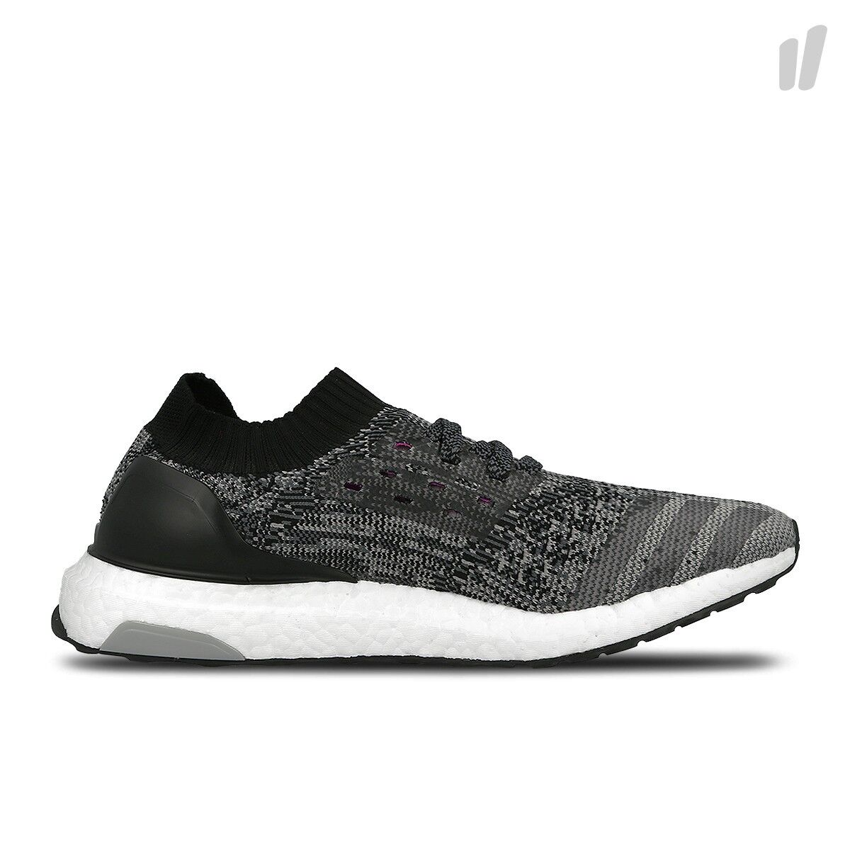 New Adidas Womens UltraBOOST UNCAGED Core Black Grey BB3904
