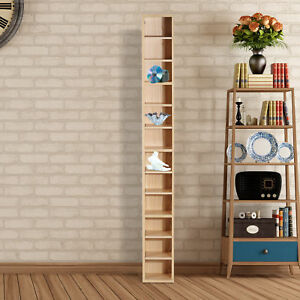 12-tier-Media-Storage-Cabinet-CD-Shelf-Tower-Rack-Stand-Multimedia-Organizer