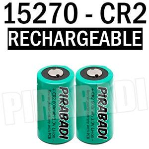 2 pile accu batterie 15270 cr2 cr 2 li ion 3v 800mah rechargeable ebay. Black Bedroom Furniture Sets. Home Design Ideas