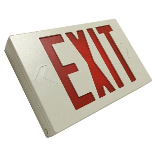 LED Exit Sign Red Letters LED Exit Sign Red Letters