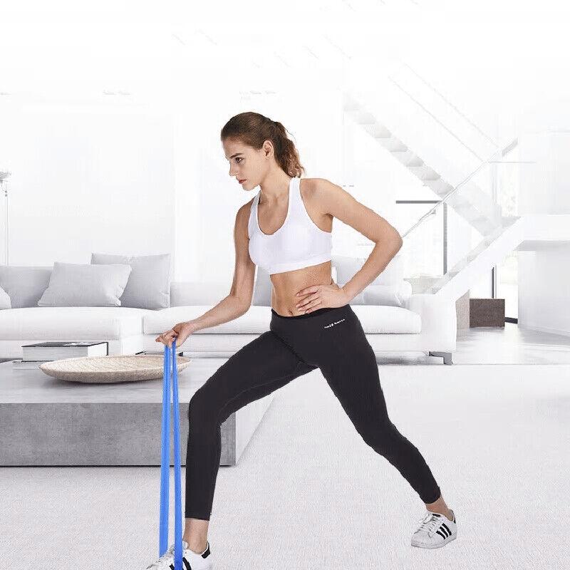 RESISTANCE Loop BANDS pour Exercice Sport Fitness Maison Gym Yoga Vendeur Britannique