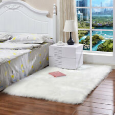 Item 2 Uk Luxury Faux Sheepskin Fur Rug Carpet Seat Pad Fluffy Soft Area Rugs