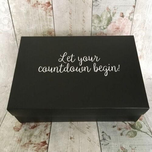 Wedding Countdown Gift Box Kit Groom To Be Special Advent Calendar Birthday