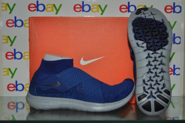 cead501dddd05 Nike RN Motion FK 2017 Flyknit Binary Blue Men Running Shoes 880845 ...
