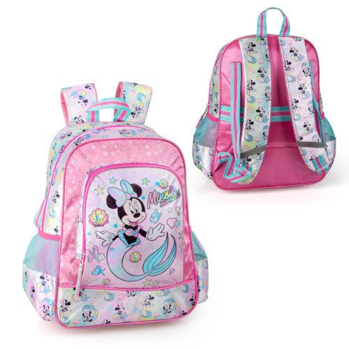 DISNEY Minnie Mouse Sirena Zaino Scuola Borsa Da Viaggio Zaino Bambini Borsa Pranzo