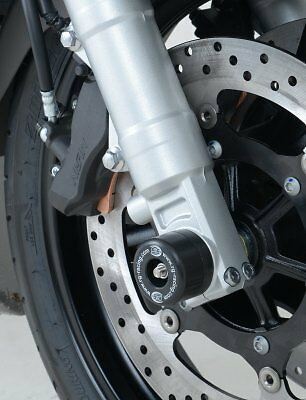 Yamaha FJR1300A 2006-2013 R&G racing black fork crash protectors