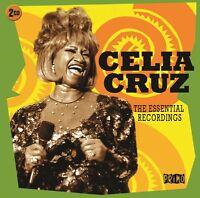Celia Cruz Essential Recordings Best Of 40 Songs Salsa Music Sealed 2 Cd