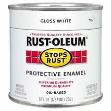 Rust-Oleum 7792730 Protective Enamel Paint, 8-Ounce, Gloss White