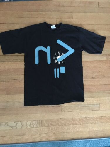 Vtg 1990s 1995 Nine Inch Nails NIN Black Cotton T