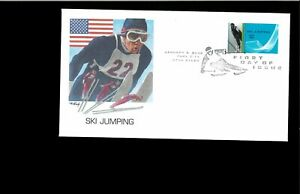 2002-First-day-Cover-Winter-Olympic-Sports-Park-City-UT