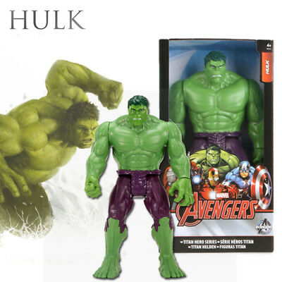 30cm Hulk Incredible Action Figur Comic Marvel Avengers Toys Sammlung Spielzeug