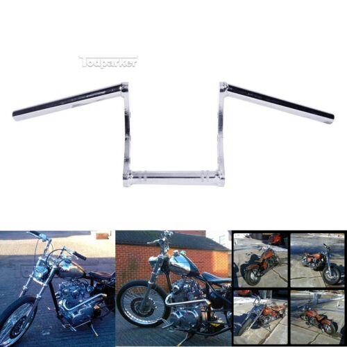 """1/"""" Drag Z Bar Handlebar For Yamaha V-Star XVS 650 950 1100 1300 Custom Silverado"""