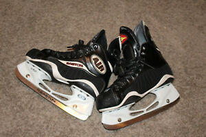 Easton-Z-Air-Vintage-Hockey-Skates-Size-6-5-excellent-PRO-stock-NHL-Canada-Made