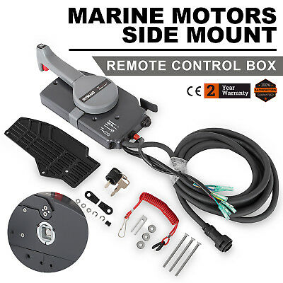 Right hand 703-48207-22-00 Side Mount Remote Control Box For Yamaha 10 Pins