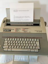 Smith Corona Xt 2710 Word Processor Electric Typewriter Withcover