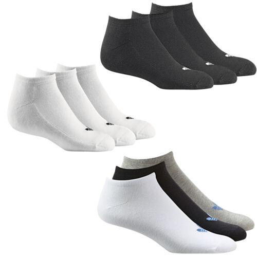 Adidas Originals Trefoil Liner sneakersocken Chaussettes Chaussettes De Sport 3 Paire Neuf