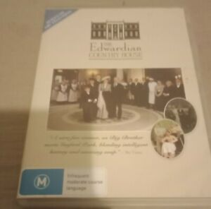 The-Edwardian-Country-House-Dvd-R4-Aus-Release-1900s-Big-Brother-Reality-Tv-Abc
