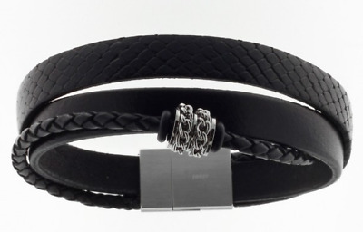 Solid 925 Sterling Silver RH Slash DC Design Bead 002-1.9mm Chain Italian Made