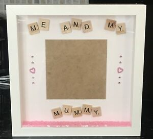 Handmade Personalised 3d Photo Frame Me And My Daddy Mummy Nana