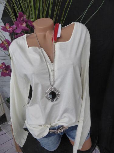 397 NEUF Sheego Shirt Taille 40//42-56//58 avec boutonnage