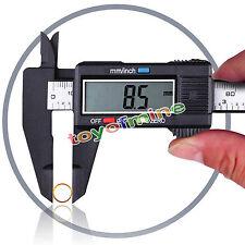 "150mm 6"" LCD Electronic Digital Messschieber Schieblehre Messer Mikrometer"