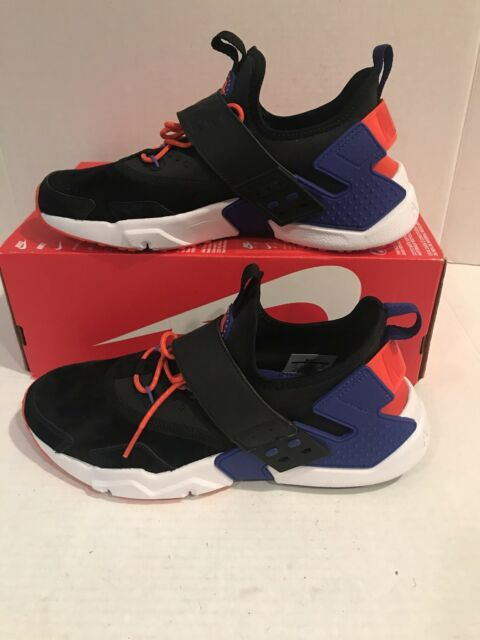 d32351f19ac0aa Size 9.5 Mens Nike Air Huarache Drift PRM Black Orange Ah7335 002 ...