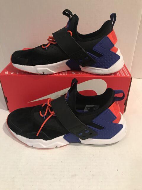 newest collection 92465 b7508 Size 9.5 Mens Nike Air Huarache Drift PRM Black Orange Ah7335 002 Running  Casual