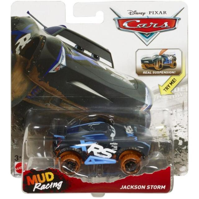 2019 Disney Pixar Cars 3 Xrs Jackson Storm Lighting Mcqueen Mud