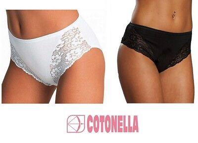 COTONELLA 2 Slip Donna Midi Cotone Art A Scelta 4940 col E Mis