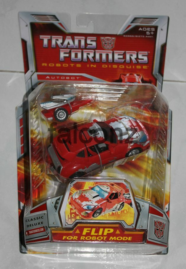 Transformers Robots In Disguise Cliffjumper Classic Deluxe Figure MISP Brand New