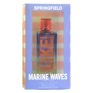Detalles de SPRINGFIELD LIKE MARINE WAVES FOR HER Colonia Perfume EDT 50 mL Mujer