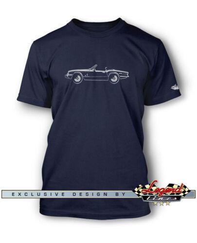 Triumph Spitfire MKIV 1500 Convertible T-Shirt for Men Multiple Colors /& Sizes