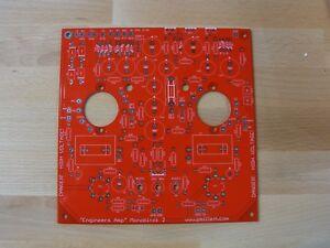 DIY-PCB-V2-50-watt-monoblock-034-Engineer-039-s-Amplifier-034-tube-amp-No-Sockets