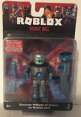 Roblox Bionic Bill Mix Match With Virtual Code New Sealed